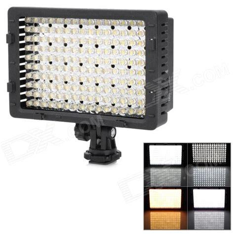 Led Lights Cn 160 nanguang cn 160 9 6w 160 led 720lm 5400k shoe dv light for camcorder black