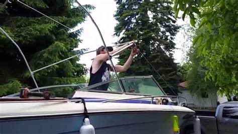 boat covers youtube boat cover diy pt 2 youtube