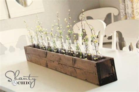 diy planter box centerpiece flower centerpieces and