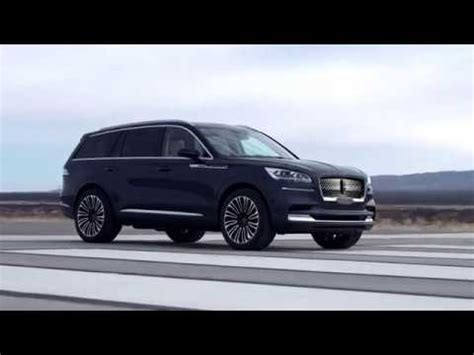 2020 lincoln aviator concept youtube