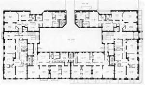 Large Townhouse Floor Plans Origins And The Dakota Central Park West Ology