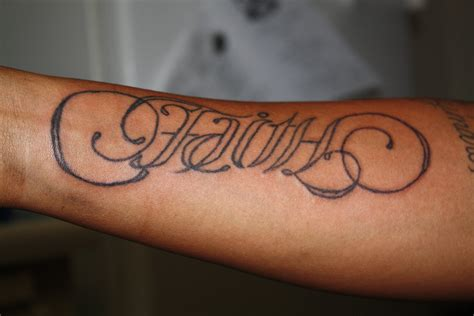 faith and hope tattoo ambigram tattoos designs ideas and meaning tattoos for you