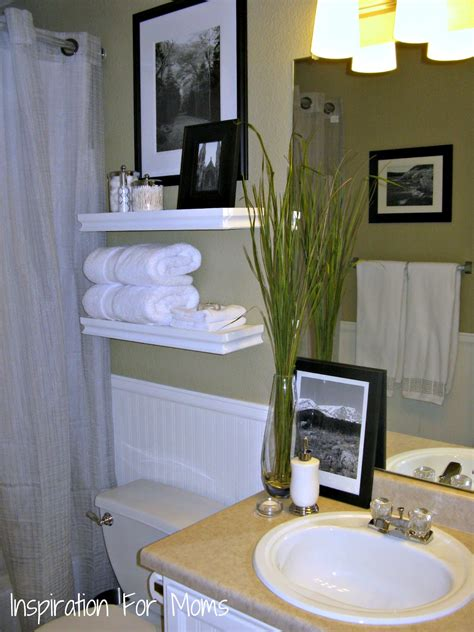 Decorating Ideas For The Bathroom I Finished It Friday Guest Bathroom Remodel Inspiration For
