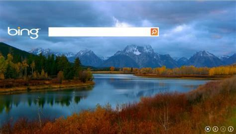 bing background not showing   Video Search Engine at