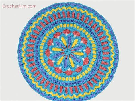 mandala pattern youtube turquoise mandala doily part 2