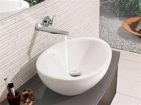 lavabo villeroy boch lavabo da appoggio ovale in ceramica aveo new generation