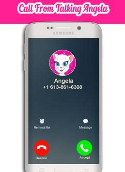 a call from talking angela apk download free simulation