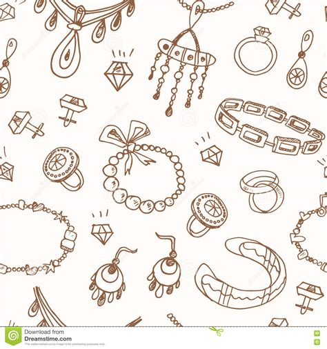 vintage pattern sketch seamless pattern with accessories sketch icon set vintage