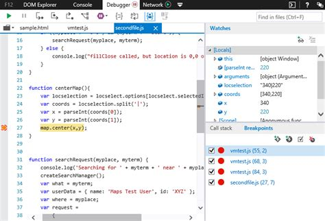 edge 10 developer tools windows f12 devtools guide debugger microsoft edge development