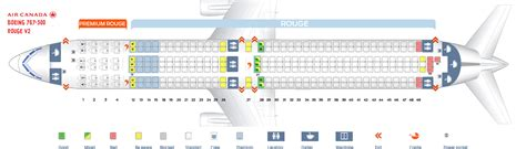 Boeing 787 Floor Plan by Seat Map Boeing 767 300 Air Canada Best Seats In Plane