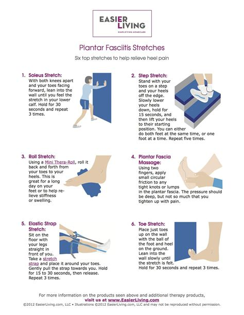 plantar fasciitis stretches i liked the focus on the foot