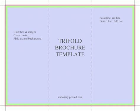 tri fold brochures templates free free tri fold obituary program template free