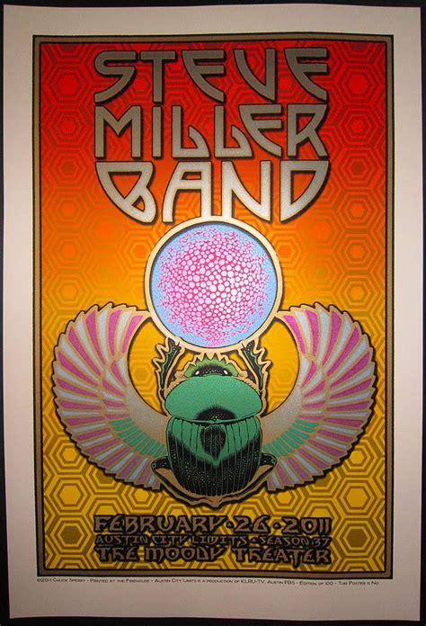 rock poster frame blog steve miller band