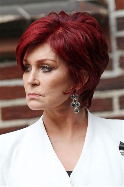 how to get osbournes haircolor instructions to get sharon osborne haircut short