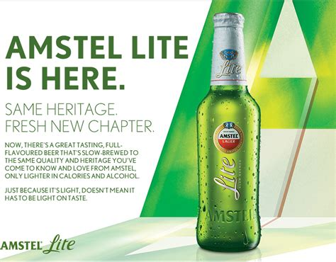 how many calories in amstel light the amstel lite is here