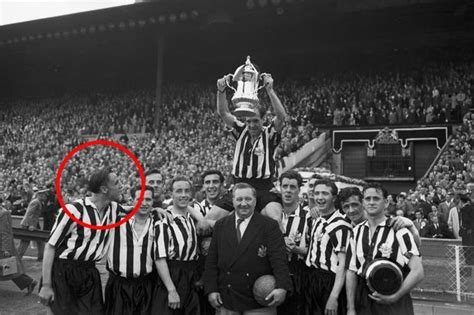Prize Money For Winning Fa Cup - newcastle 1955 fa cup final winners put their prize money on a horse it came third