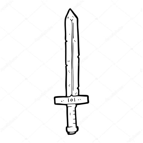 cartoon white cartoon sword black and white www pixshark com images