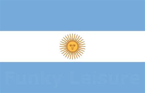 Bandera Oficial de Ceremonia   Flag of Argentina