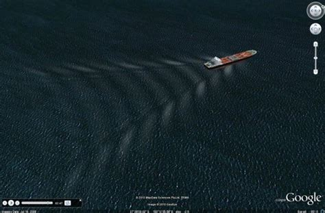 bow boat waves bow waves for more realistic looking ships google earth blog