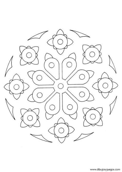 imagenes de mandalas simples para colorear dibujos mandalas simples 003 dibujos y juegos para