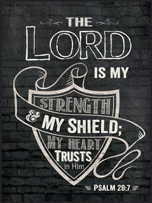 the lord is our shield and strength our journey with god