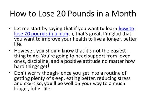 How To Shed Pounds by How To Lose 20 Pounds In A Month Diet Plan Weight Loss