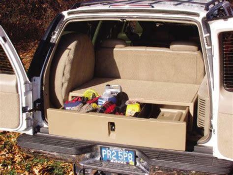 cargo caddy  truck van  suv police suv organizer  truck idea suv camping suv