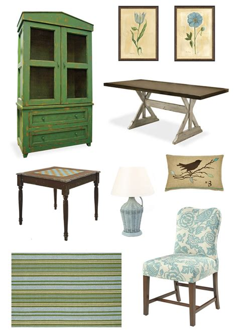 Caign Style Furniture by Cottage Lake House Inspiration Sky Blue Green Lake