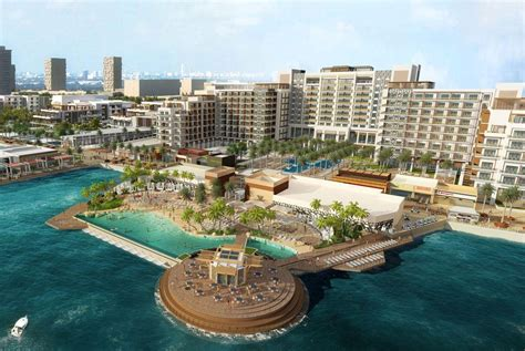 sandhornøya island hilton miral to build five star resort on abu dhabi s yas