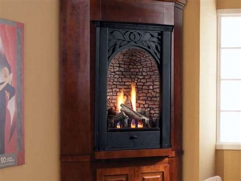 ventless corner gas fireplace corner gas fireplaces