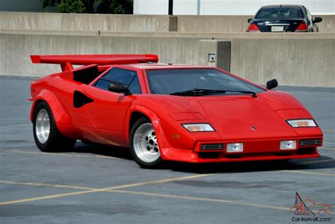 Lamborghini 1980s 1980 Lamborghini Countach Prova V8 Chassis