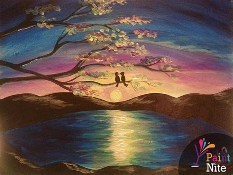 paint nite island events paint nite lilac lake