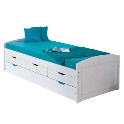lit gigogne avec tiroirs de rangement lit avec tiroir rangement maison design wiblia