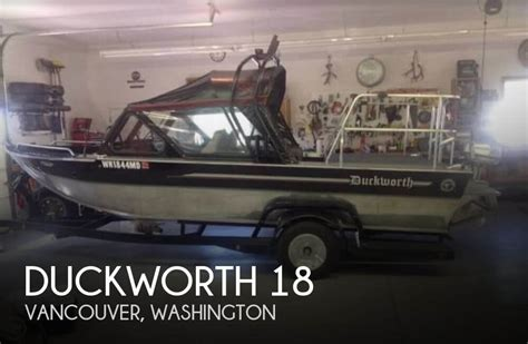 used duckworth boats washington duckworth 18 boat for sale in vancouver wa for 22 495