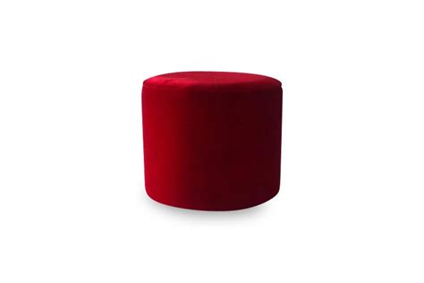 round red ottoman 18 quot red round ottoman lux lounge efr 888 247 4411