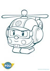 56 dessins coloriage robocar poli 224 imprimer