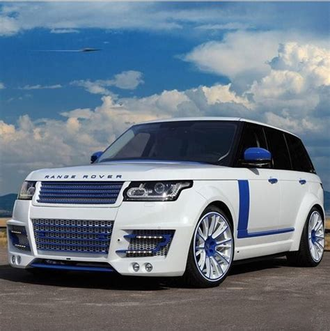 range rover blue and white white blue range rover sport luxury cars