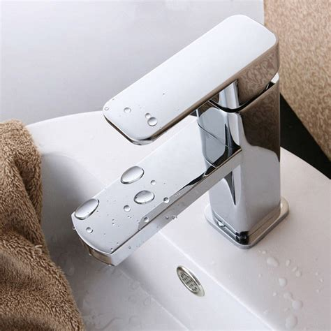 bathroom sink faucets separate hot and cold aliexpress com buy 100 brass single hole bathroom faucet