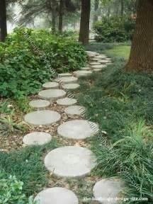 garden walkway ideas walkways round pavers landscape ideas pinterest