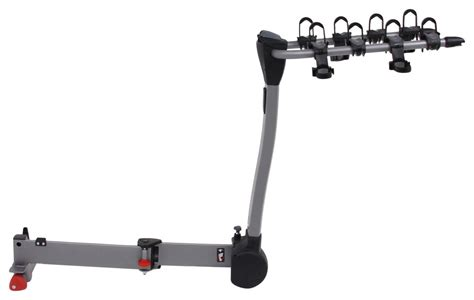 swinging bike rack hitch yakima swingdaddy 4 bike rack 2 quot hitches swinging