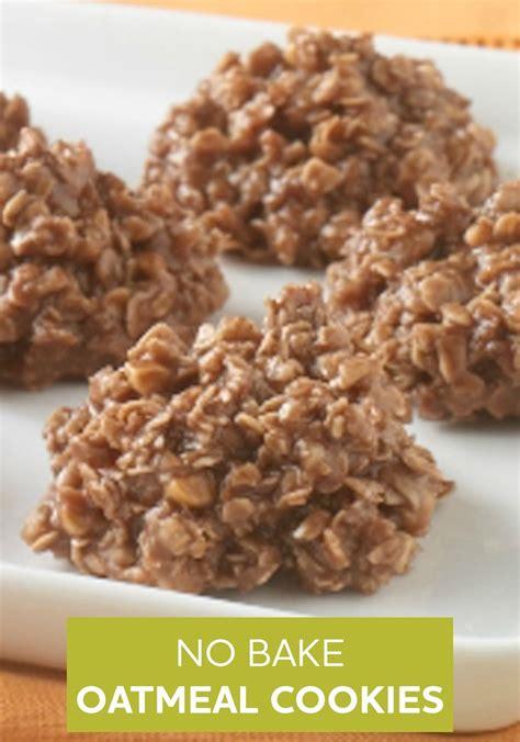 no bake oatmeal cookies recipe