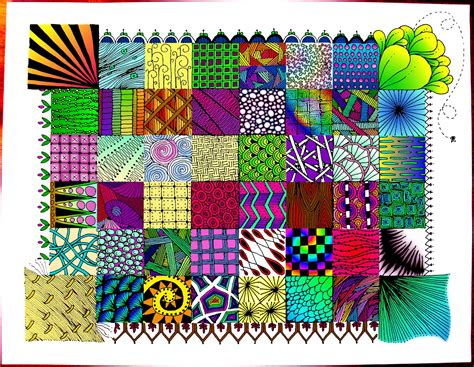 zentangle quilt pattern zentangle quilt flickr photo sharing