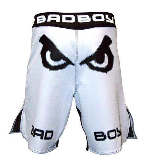 Bad Boy Fundamental Mma Fightshorts Black bad boy legacy shorts white black