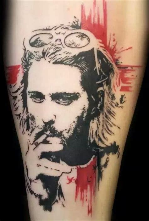 tattoo fixers kurt cobain pinterest the world s catalog of ideas