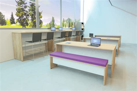 bench office address new breakout benches office desks leicester