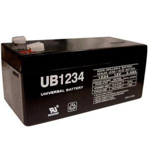 upg sla 12 volt f1 terminal battery ub1234 the home depot