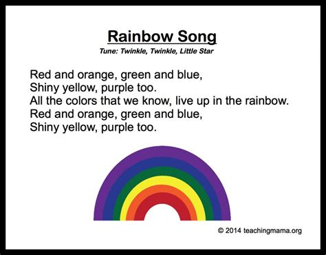 the song colors 10 preschool songs about colors