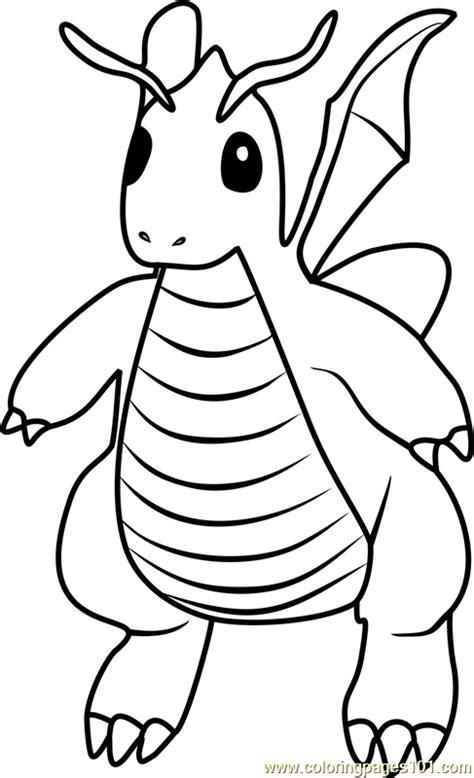 pokemon coloring pages dragonite pokemon dragonite coloring images pokemon images