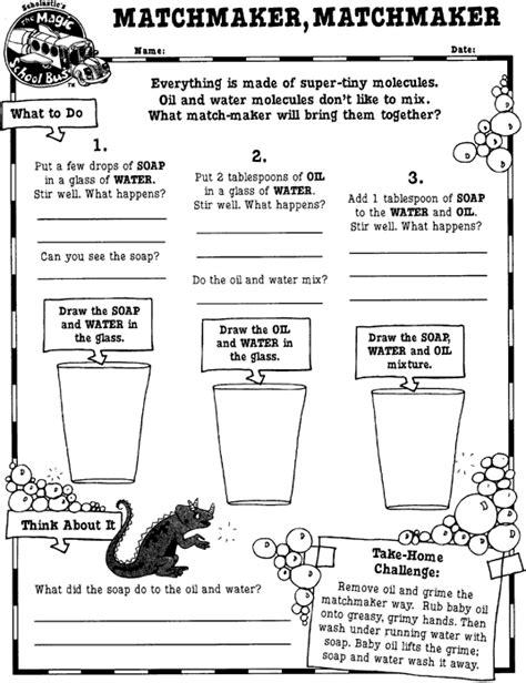the magic school worksheets matchmaker matchmaker printable scholastic
