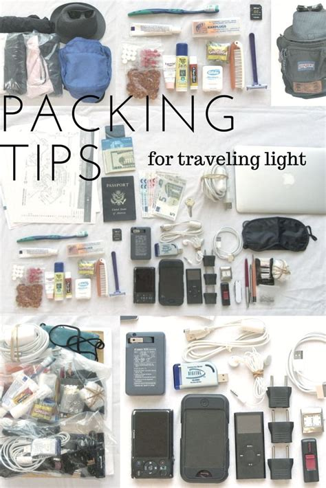 packing light for travel 1000 ideas about travel packing lists on